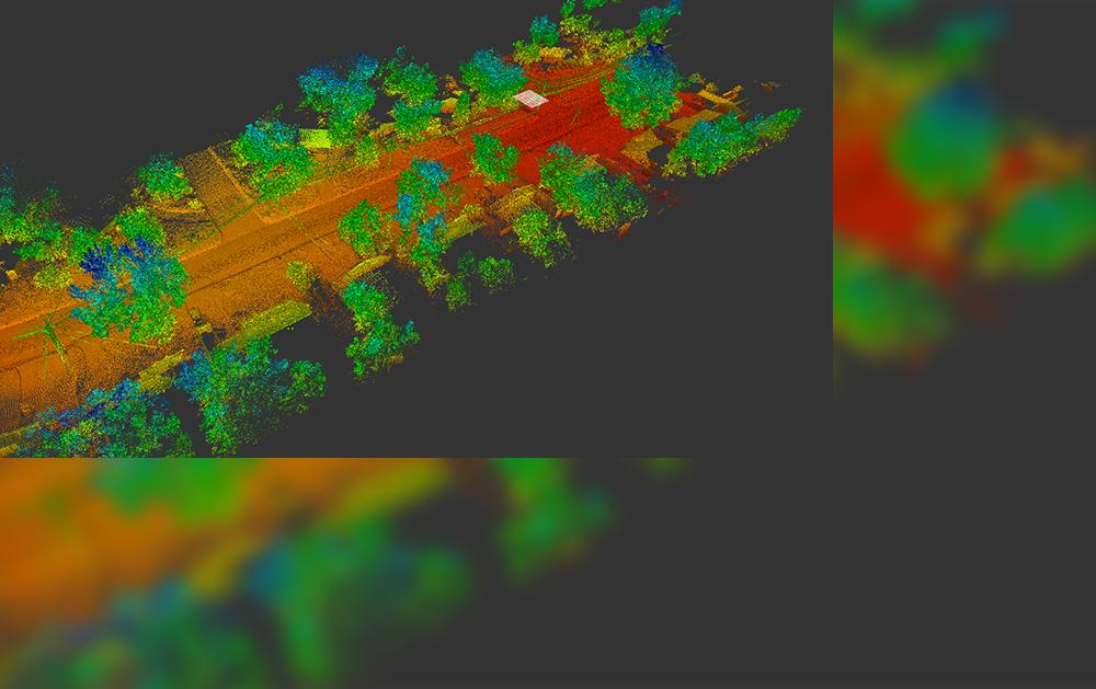 Road Elevation LiDAR survey-Reality IMT