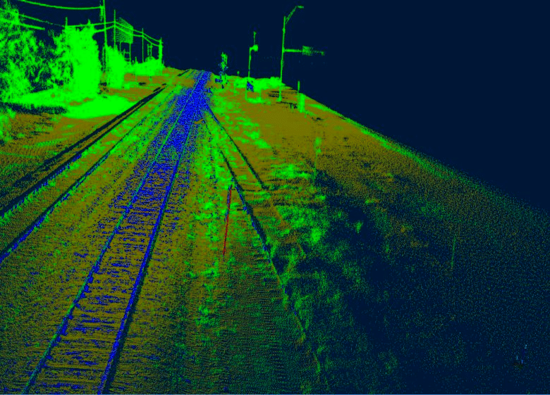 Lidar Mapping Services in Houston. Car mounted Lidar mapping Reality IMT