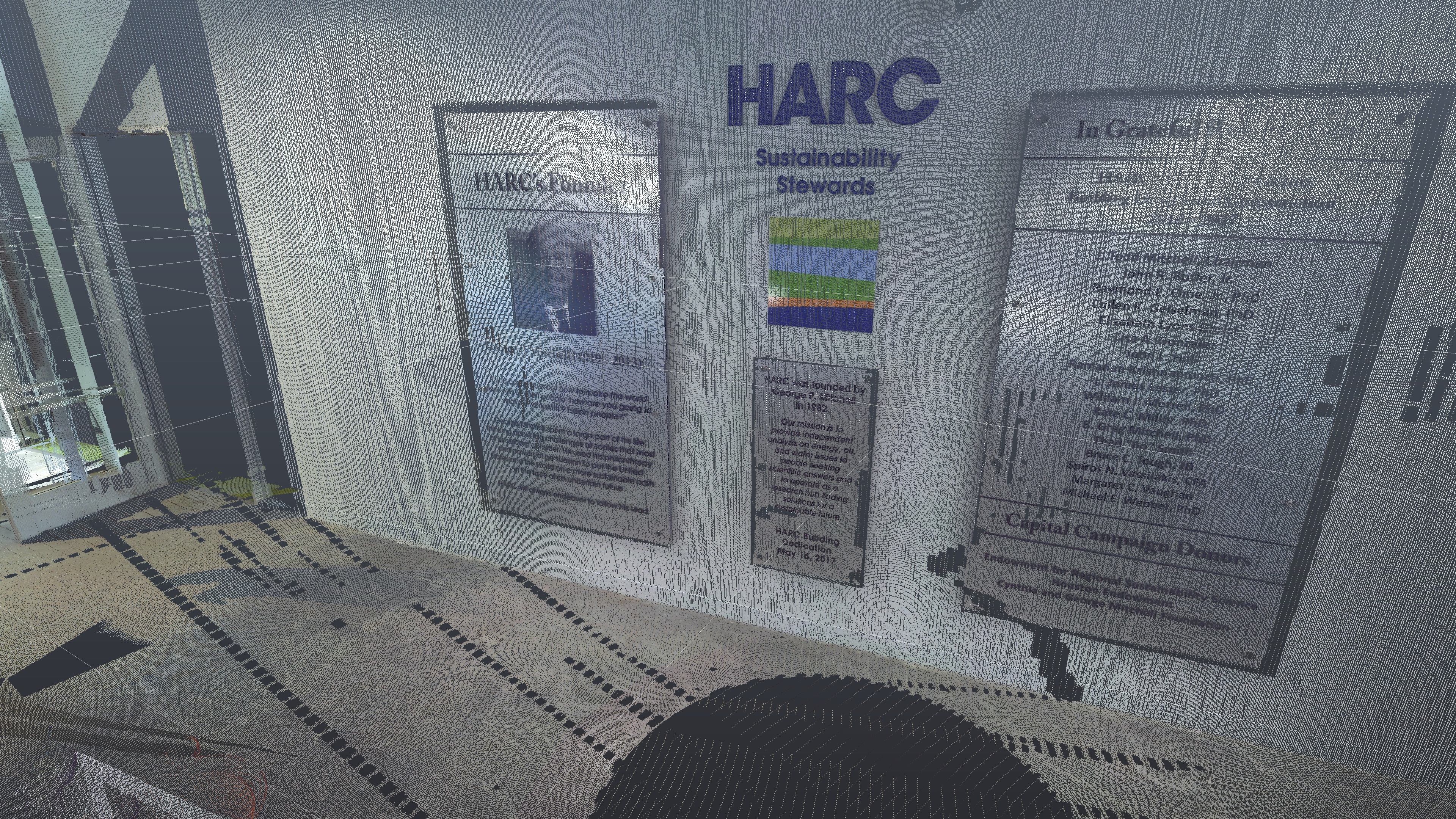 HARC Pointcloud Laser Scan