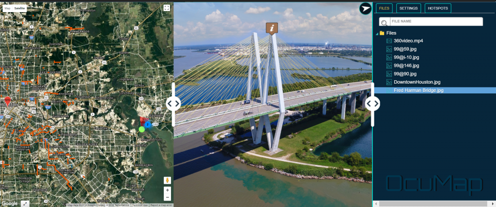 Aerial 360 Mapping-Civil Engineering Houston-Highway 99