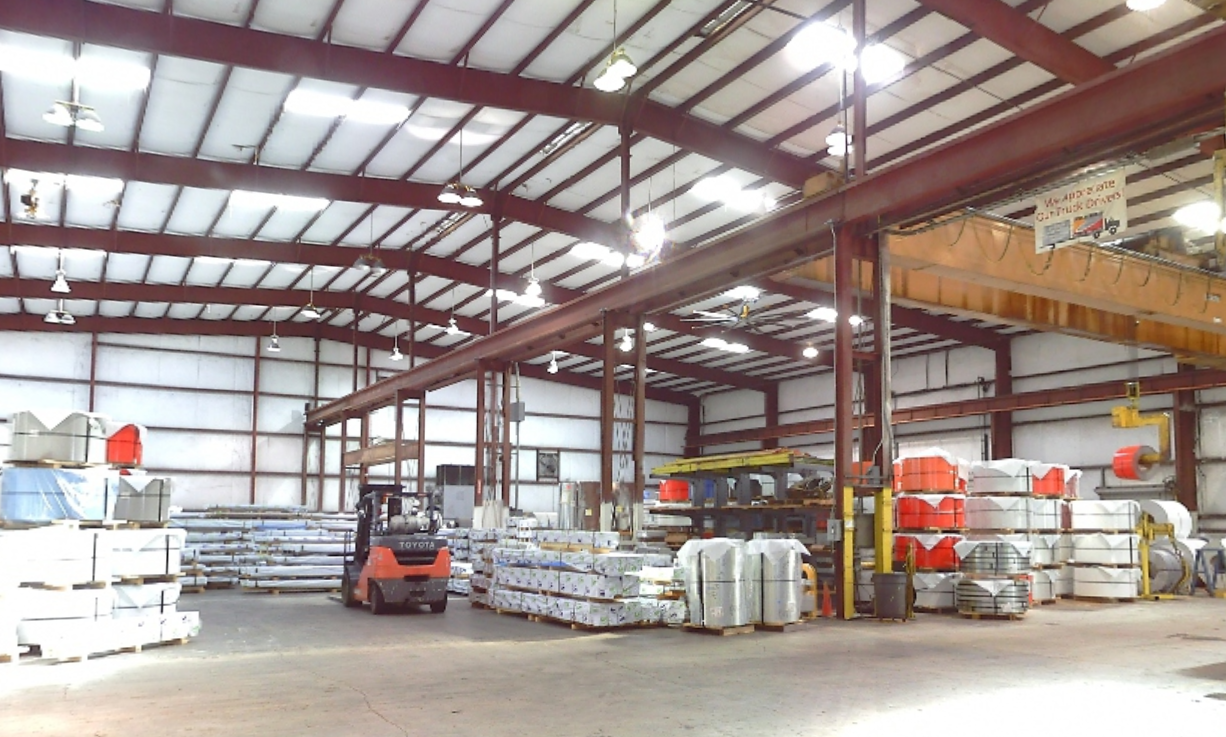 Warehouse As-Built-Industrial Facilities Houston 3D laser scanning