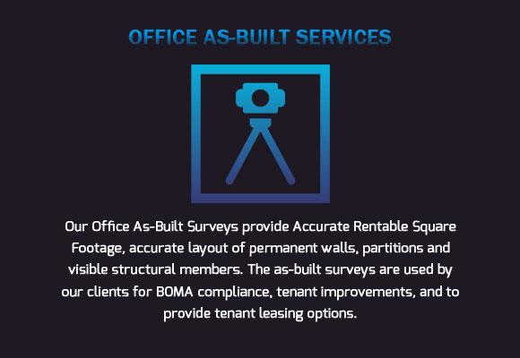 BOMA compliance As-Built Surveys