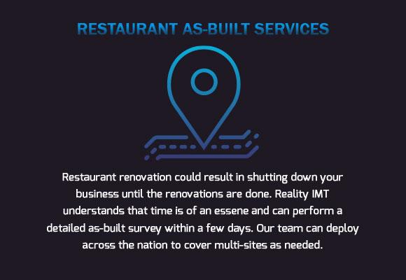 Restaurant Renovation As-Built Surveys