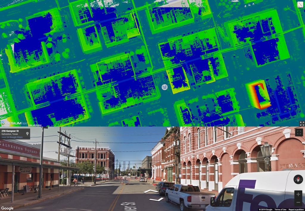 road as-built surveys, LiDAR, Car LiDAR, GPS, Street Survey, City Mapping
