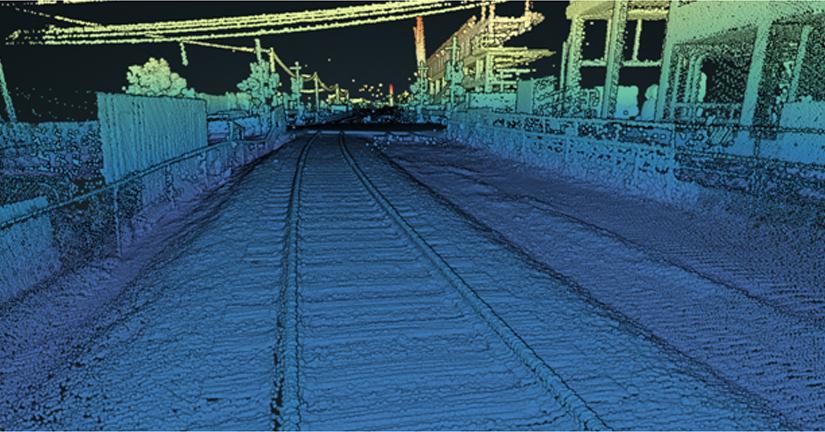 Rail and Transit LiDAR 3D imaging
