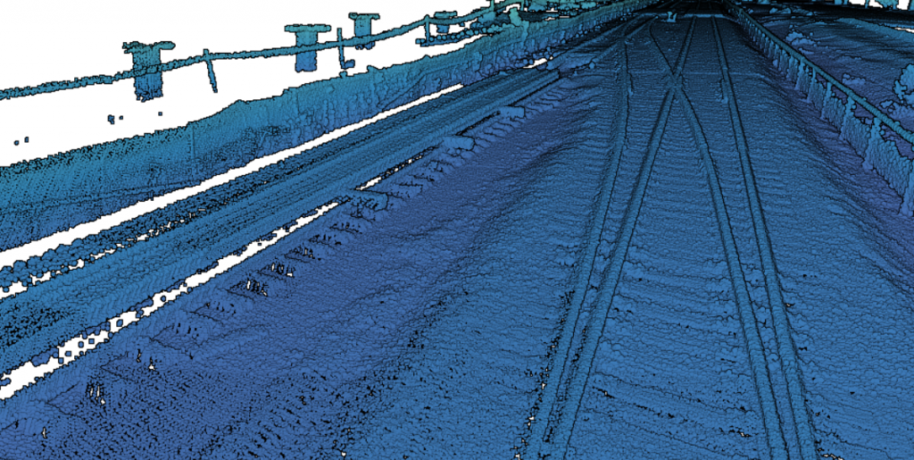Track Survey Technology LiDAR
