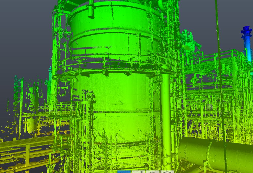 Tank Inspection API 650 Houston 3D Laser Scanning
