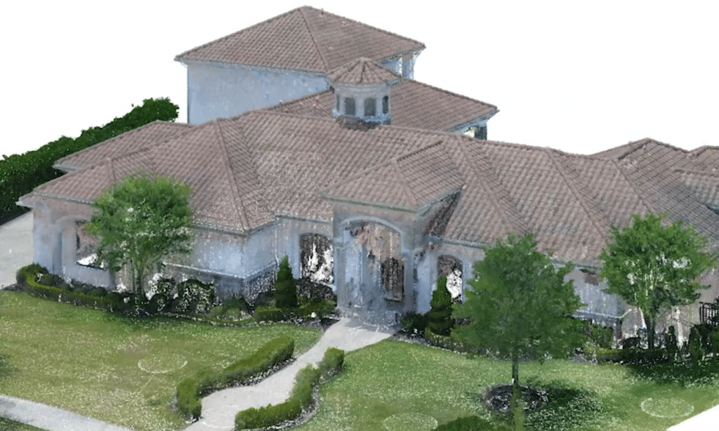 3D laser scanning for residential