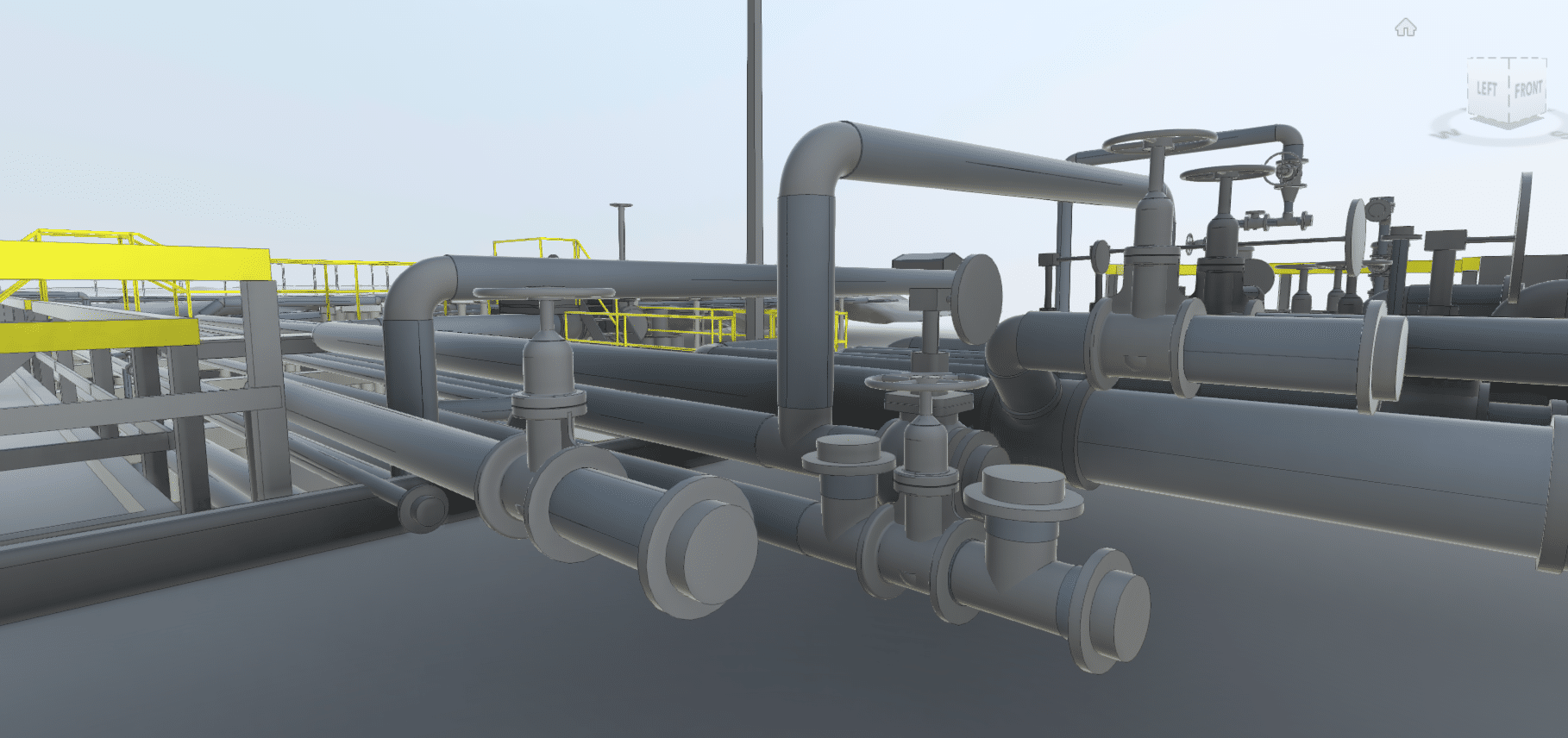 Oil and Gas 3D Laser Scanning Services-Texas Louisiana