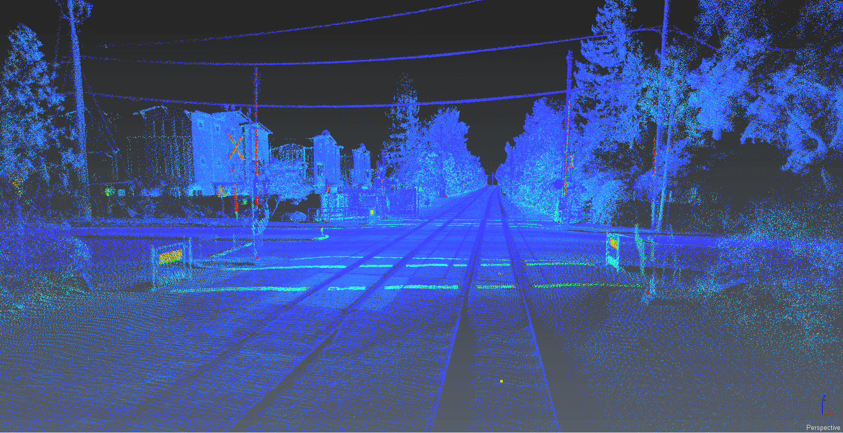 Mobile LiDAR Street Level Mapping For Railroads, Streets and Highways features extraction line, polyline, FAQ
