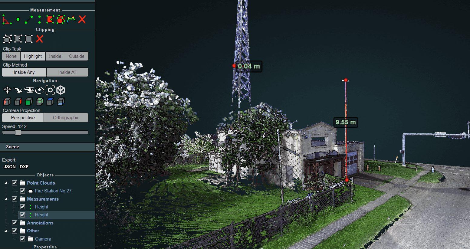 Utilities Asset Mapping GIS and LIDAR